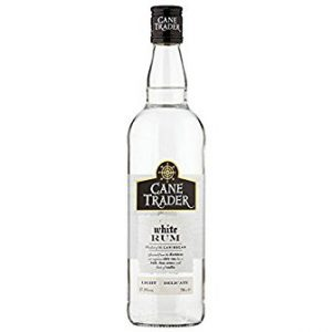 Bottle of Cane Trader White Rum 70cl.