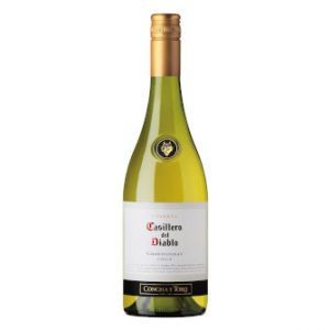 Bottle of Casillero Del Diablo Chardonnay 70cl.