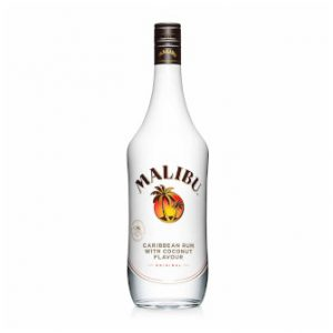 Bottle of Malibu 70cl .