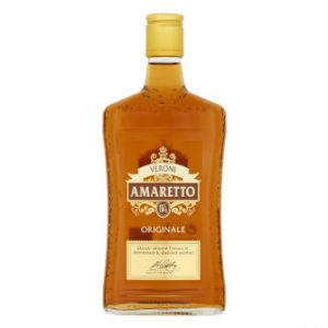 Bottle of Veroni Amaretto 50cl.